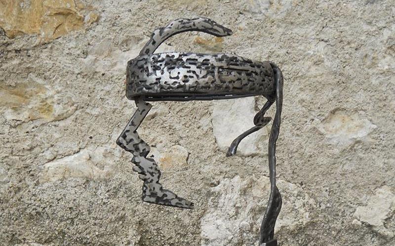 Corsican Head - detail